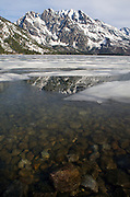 Grand Teton Reflection during spring meltoff - Grand Teton National Park