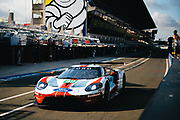 June 10-16, 2019: 24 hours of Le Mans. 69 FORD CHIP GANASSI TEAM USA, FORD GT, Scott DIXON, Richard WESTBROOK,  Ryan BRISCOE , morning warmup