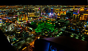 Uber Technologies partners with Maverick Helicopters during CES in Las Vegas to help attendees experience the Las Vegas Strip from the air on Thursday, Jan. 5, 2017.  L.E. Baskow