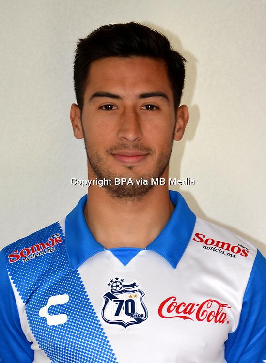 Mexico League - BBVA Bancomer MX 2014-2015 - <br /> Camoteros - Puebla F&uacute;tbol Club / Mexico - <br /> Eduardo Perez