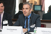 Carey Chamberlain, Head of US Equity Finance, HSBC joins a panel at the Global Investor/ISF presents the Pan-American Securities Finance Forum held on September 26, 2013 at the Renaissance New York Hotel 57. Panel centered on the topic of  Maximising lending opportunities. The panel discussed emerging opportunities in the US and beyond. Securities lending grew rapidly across Latin America over the past decade.