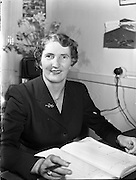 Mrs Christina Reidy, Hotel Manageress, Co Monaghan.04/04/1957