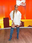 J-Lo Visits TRL