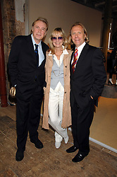 Model TWIGGY and her husband LEIGH LAWSON and STEVE SHARPE Director of marketing, M&S at a priavte view of Marks & Spencer's Autumn Winter collection 2007 held at One The Piazza, Covent Garden, London on 24th May 2007.<br /><br />NON EXCLUSIVE - WORLD RIGHTS