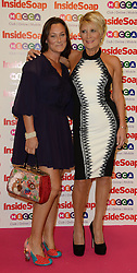 Inside Soap Awards.<br /> Luisa Bradshaw-White with Linda Henry arrives for the Inside Soap Awards, Ministry of Sound, London, United Kingdom,<br /> Monday, 21st October 2013. Picture by Andrew Parsons / i-Images