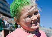 Ariel Johnston at O.U. football team vs. Western Michigan home football game on Saturday, 10/7/06.