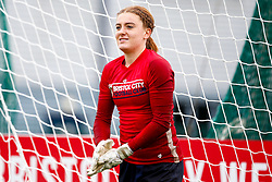 Sophie Baggaley of Bristol City prior to kick off - Mandatory by-line: Ryan Hiscott/JMP - 14/10/2018 - FOOTBALL - Stoke Gifford Stadium - Bristol, England - Bristol City Women v Birmingham City Women - FA Women's Super League 1