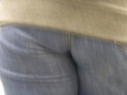 close up of a person from behind