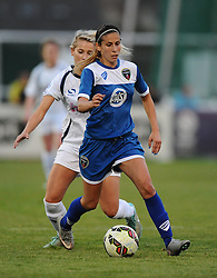 Evdokia Popadinova of Bristol Academy  - Mandatory byline: Dougie Allward/JMP - 07966386802 - 29/08/2015 - FOOTBALL - Stoke Gifford Stadium -Bristol,England - Bristol Academy Women FC v Birmingham City Ladies - FA WSL Continental Tyres Cup