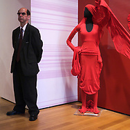 Guarding the Mannequin at MoMA (Museum of Modern Art) in New York City