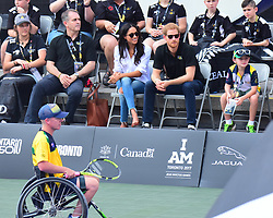 Prince Harry and Girlfriend Meghan Markle spotted at the Invictus Games Wheel Chair tennis in Toronto Canada. 25 Sep 2017 Pictured: Prince Harry and Meghan Markle. Photo credit: 246paps/MEGA TheMegaAgency.com +1 888 505 6342