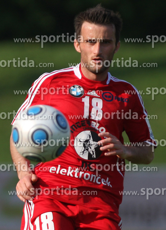 Amer Jukan of Interblock at 28th Round of Slovenian First League football match between NK Interblock and ND Hit Gorica ZAK Stadium, on April 11, 2009, in Ljubljana, Slovenia. Gorica won 2:1. (Photo by Vid Ponikvar / Sportida)