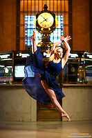 Dance As Art New York City Photography Project Grand Central Series with dancer, Alyssa Ness