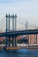 Manhattan Bridge - New York City in October 2008