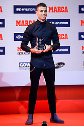 Real Madrid's football star Cristiano Ronaldo attends the MarcaFootball Award 2015-2016 photocall at Florida Park on November 7, 2016 in Madrid, Spain. Photo by Borja B Hojas/AlterPhotos/ABACAPRESS.COM