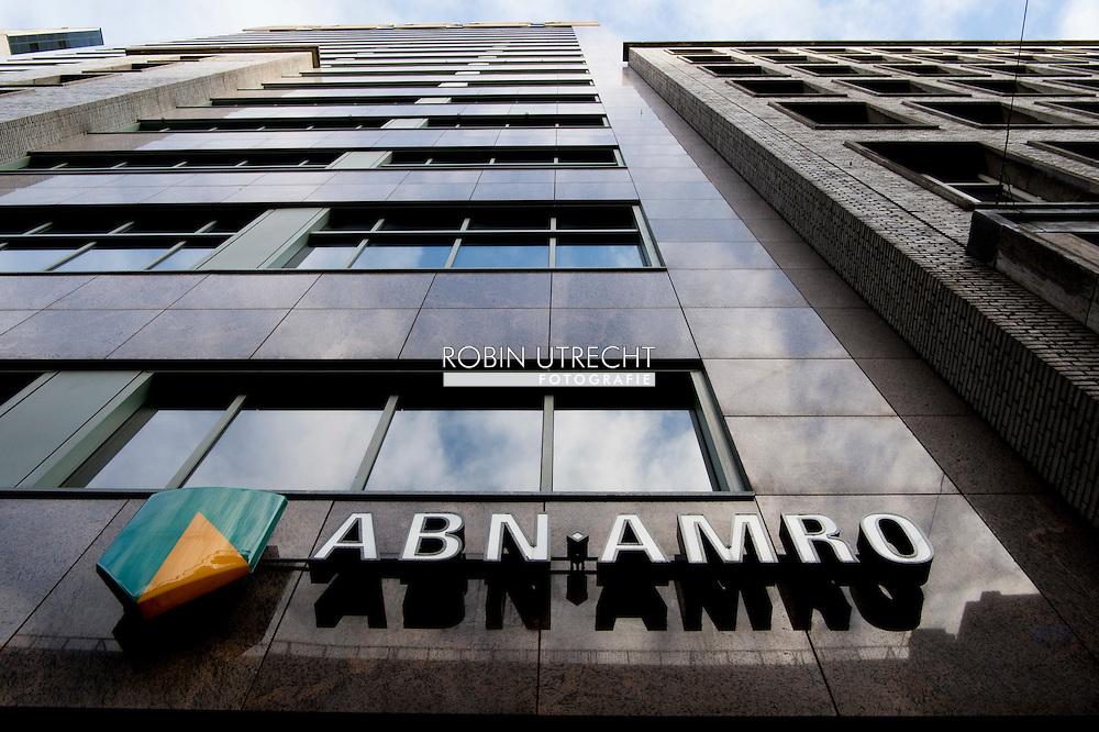 rotterdam - een abn amro bank kantoor winkel . copyright robin utrecht