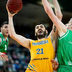 20190216: SLO, Basketball - Spar Cup 2018/19, semifinals, KK Sixt Primorska vs KK Petrol Olimpija