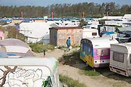 Calais, Pas-de-Calais, France - 16.10.2016    <br />     <br />  &rdquo;Jungle&quot; refugee camp on the outskirts of the French city of Calais. Many thousands of migrants and refugees are waiting in some cases for years in the port city in the hope of being able to cross the English Channel to Britain. French authorities announced that they will shortly evict the camp where currently up to up to 10,000 people live.<br /> <br /> &rdquo;Jungle&rdquo; Fluechtlingscamp am Rande der franzoesischen Stadt Calais. Viele tausend Migranten und Fluechtlinge harren teilweise seit Jahren in der Hafenstadt aus in der Hoffnung den Aermelkanal nach Gro&szlig;britannien ueberqueren zu koennen. Die franzoesischen Behoerden kuendigten an, dass sie das Camp, indem derzeit bis zu bis zu 10.000 Menschen leben K&uuml;rze raeumen werden. <br /> <br /> Photo: Bjoern Kietzmann