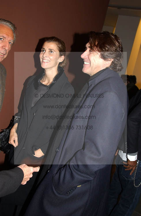 PRINCESS ROSSARIO OF BULGARIA and singer BRYAN FERRY at an exhibition of paintings by artist George Condo entitled 'Religious Paintings' held at the Spruth Magers Lee Gallery, 12 Berkeley Street, London W1 on 12th October 2004.<br /><br />NON EXCLUSIVE - WORLD RIGHTS