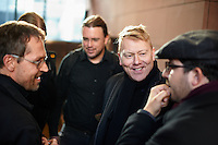 Members of the german Piraten Partei  meeting the Mayor of Reykjavík Mr. Jón Gnarr and other members of the Icelandic Best party.