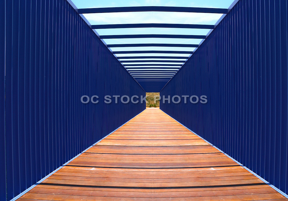 Blue Bridge at Newport Beach Civic Center and Park