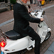 NLD/Amsterdam/20091008 - Designer Vintage for Charity party, Leco Zadelhoff