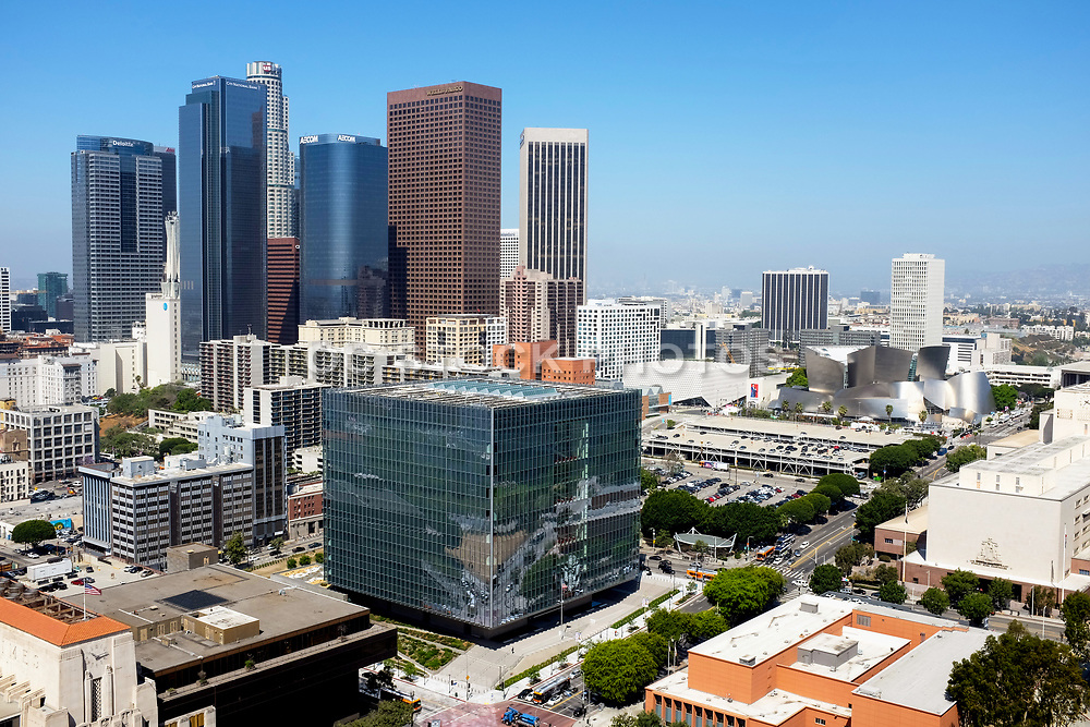 Los Angeles Skyline From City Hall