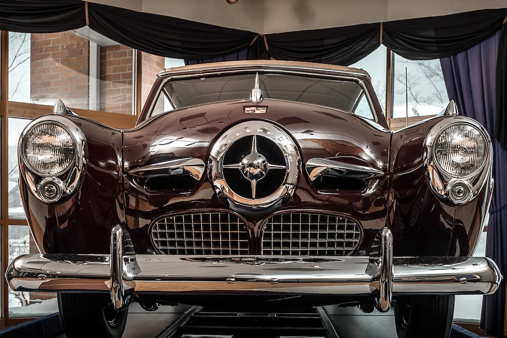 Feb. 19, 2015; Studebaker National Museum. (Photo by Matt Cashore)