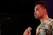 4 August 2010- New York, NY- Bilal performs at the ' Robert Glasper Experiment with special guest Q-Tip and Bilal' held outdoors in Damrosch Park for The Lincoln Center Out if Doors Series on August 4, 2010 in New York City. Photo Credit: Terrence Jennings