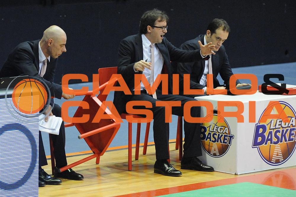 DESCRIZIONE : Biella Lega A 2012-13 Angelico Biella EA7 Emporio Armani Milano<br /> GIOCATORE : Mario Fioretti Alberto Rossini<br /> CATEGORIA : Delusione<br /> SQUADRA : EA7 Emporio Armani Milano<br /> EVENTO : Campionato Lega A 2012-2013 <br /> GARA : Angelico Biella EA7 Emporio Armani Milano<br /> DATA : 30/12/2012<br /> SPORT : Pallacanestro <br /> AUTORE : Agenzia Ciamillo-Castoria/M.Ceretti<br /> Galleria : Lega Basket A 2012-2013  <br /> Fotonotizia : Biella Lega A 2012-13 Angelico Biella EA7 Emporio Armani Milano<br /> Predefinita :
