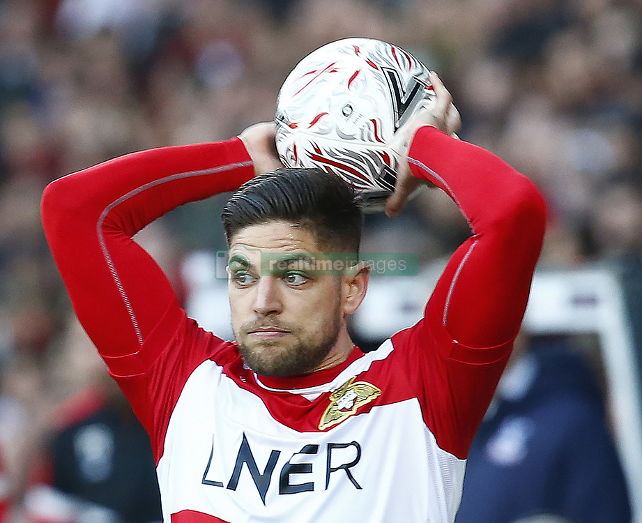 February 17, 2019 - Doncaster, United Kingdom - Doncaster Rovers' Danny Andrew.during FA Cup Fifth Round between Doncaster Rovers and Crystal Palace at Keepmoat stadium , Doncaster, England on 17 Feb 2019. (Credit Image: © Action Foto Sport/NurPhoto via ZUMA Press)