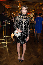 ELLA CATLIFF at the Cointreau Creative Crew Launch at the Cafe Royal, Regent's Street, London on 27th October 2015.