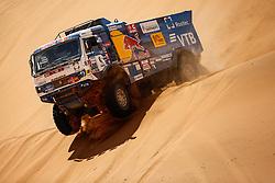 January 11, 2019 - Arequipa, Peru - AREQUIPA, PU - 11.01.2019: DAKAR 2019 - Eduard Nikolaev (RUS) during the Dakar Rally 2019, on Friday (11), in Arequipa, Peru. (Credit Image: © Marcelo Machado De Melo/Fotoarena via ZUMA Press)