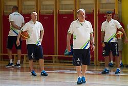 Bozidar Maljkovic, head coach during training camp of Slovenian National basketball team for Eurobasket 2013 on July 19, 2013 in Sports hall Rogatec, Slovenia. (Photo by Vid Ponikvar / Sportida.com)
