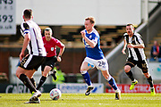 Chesterfield defender Andy Kellett (24)  strides forward during the EFL Sky Bet League 2 match between Chesterfield and Notts County at the Proact stadium, Chesterfield, England on 25 March 2018. Picture by Nigel Cole.