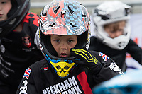 Competitors for the Prudential RideLondon BMX Quarter Finals. Prudential RideLondon 28/07/2017<br /> <br /> Photo: Bob Martin/Silverhub for Prudential RideLondon<br /> <br /> Prudential RideLondon is the world&rsquo;s greatest festival of cycling, involving 100,000+ cyclists &ndash; from Olympic champions to a free family fun ride - riding in events over closed roads in London and Surrey over the weekend of 28th to 30th July 2017. <br /> <br /> See www.PrudentialRideLondon.co.uk for more.<br /> <br /> For further information: media@londonmarathonevents.co.uk