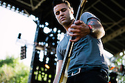The Gaslight Anthem performs at Lollapalooza in Chicago, IL on August 5, 2012