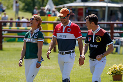 Hough Lauren, USA, Bluman Daniel, COL, Brash Scott, GBR<br /> Deutsches Spring- und Dressur Derby Hamburg 2017<br /> © Hippo Foto - Stefan Lafrentz<br /> 27-05-2017