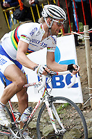 Tom Boonen on the Muur