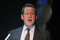 Ed Vaizey MP at The BRIT School Industry Day, Croydon, London..Thursday, Sept.22, 2011 (John Marshall JME)