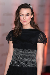 Keira Knightley attending the world premiere of The Aftermath at the Picturehouse Central Cinema in London.<br />Photo credit should read: Doug Peters/EMPICS