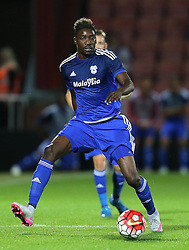 Sammy Ameobi of Cardiff City - Mandatory by-line: Paul Terry/JMP - 07966386802 - 31/07/2015 - SPORT - FOOTBALL - Bournemouth,England - Dean Court - AFC Bournemouth v Cardiff City - Pre-Season Friendly