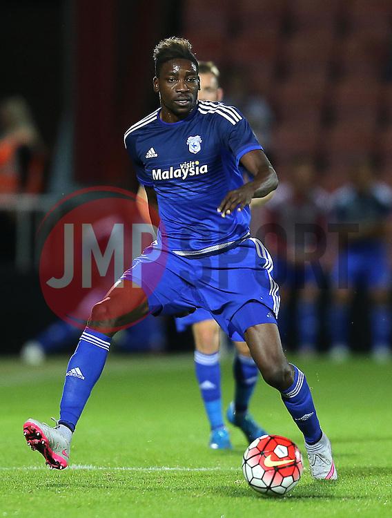 Sammy Ameobi of Cardiff City - Mandatory by-line: Paul Terry/JMP - 07966386802 - 31/07/2015 - SPORT - FOOTBALL - Bournemouth,England - Dean Court - AFC Bournemouth v Cardiff City - Pre-Season Friendly