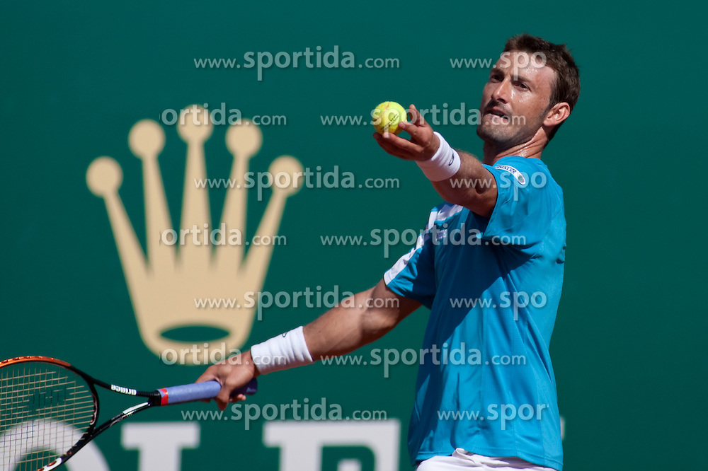 14.04.2010, Country Club, Monte Carlo, MCO, ATP, Monte Carlo Masters, im Bild Juan Carlos Ferrero (ESP) in action during the second round . EXPA Pictures © 2010, PhotoCredit: EXPA/ M. Gunn / SPORTIDA PHOTO AGENCY