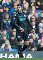 Football - 2016 / 2017 Premier League - Chelsea vs. West Bromwich Albion<br /> <br /> Hal Robson Kanu of West Bromwich Albion at Stamford Bridge.<br /> <br /> COLORSPORT/DANIEL BEARHAM