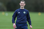 Forest Green Rovers strength and conditioning coach Tom Huelin at Stanley Park, Chippenham, United Kingdom on 14 January 2019.