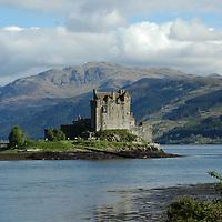 Eilean Donan castle, Dornie, Kyle of Lochalsh<br />