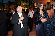 GERRY FARRELL, Evgeny Lebedev and Graydon Carter hosted the Raisa Gorbachev charity Foundation Gala, Stud House, Hampton Court, London. 22 September 2011. <br /> <br />  , -DO NOT ARCHIVE-© Copyright Photograph by Dafydd Jones. 248 Clapham Rd. London SW9 0PZ. Tel 0207 820 0771. www.dafjones.com.