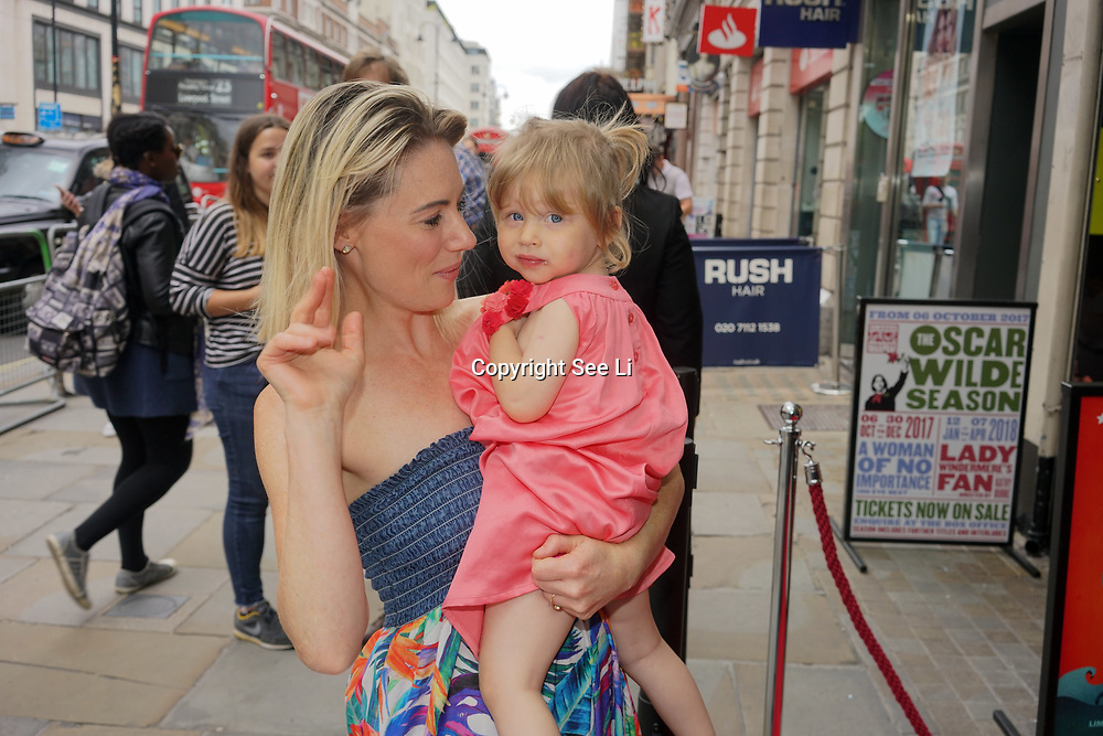 London, England, UK. 27th July 2017. Kellie Shirley attends the opening day The Hunting of the Snark at Vaudeville Theatre, The Strand