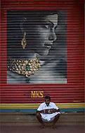 Street scene, Kariakudi, Tamil Nadu, India